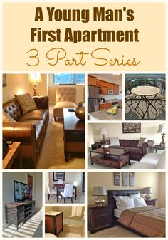 DECORATING A FIRST APARTMENT? Here's a 3 part series detailing how to decorate within your budget and your style, when you're starting with nothing | Designthusiasm.com #homedecor #apartmentliving