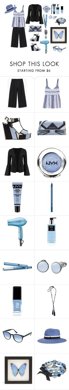 """""""Spring Enlightenment ⛲️"""" by jbeb ❤ liked on Polyvore featuring Margaret Howell, Lemlem, Dolce&Gabbana, Karl Lagerfeld, Boohoo, NYX, BaByliss Pro, Nest Fragrances, The Wet Brush and Skagen"""