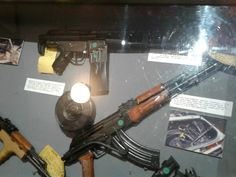 Weaponry of 1997 Bank of America Shootout assailants in North Hollywood. North Hollywood Shootout, Bank Of America, African History, 1970s, Arms, Places, Decor, Decoration, Arm