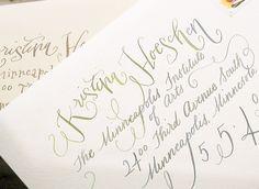 Calligraphy Inspiration: Crystal Kluge