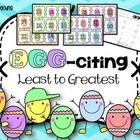 FREE! Do your students need more practice with least to greatest! With these free easy center it makes it possible!  Flip 3 cards, put in order, and fill...