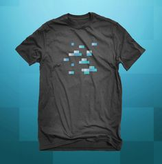 Minecraft Diamond Ore / Unisex Tees / Team by IndicaPlateau