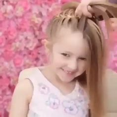 Enjoy This Fascinating Hairstyle # Braids peinados girls Trendy Halo Bun Easy Tutorial Easy Hairstyles For Long Hair, Little Girl Hairstyles, Braided Hairstyles, Indian Hairstyles, Wedding Hairstyles, Beach Hairstyles, Princess Hairstyles, Men's Hairstyle, Funky Hairstyles