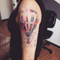 Tattoo Artist: Nancy Jehagi - Mexico City D.F www.tatteo.com
