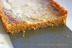 """The famous """"Momofuku Milk Bar's Crack Pie."""" GOT to try this."""