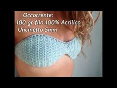 In this video I show you how to realize a simple bandeau bikini! I hope you Enjoy it! Baby Bikini, Bandeau Bikini, Motif Bikini, Bikini Pattern, Bandeau Crochet, Crochet Bikini Top, Crochet Top, Diy Crochet, Beginner Crochet Tutorial