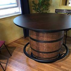 Jack Daniels Authentic Whiskey Barrel Bar Barrel Table