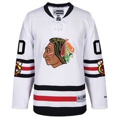 ... Womens Premier White Away Customized NHL Jersey Mens Chicago Blackhawks  Reebok 2017 Winter Classic Premier Custom Jersey. Chicago BlackhawksNhl ... 17bda6036