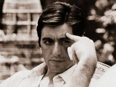 Al Pacino, when men looked like men and not little girls. Young Al Pacino, Corleone Family, Call Me Al, Godfather Movie, Dog Day Afternoon, Actor Studio, American Legend, Men Looks, Beautiful Men