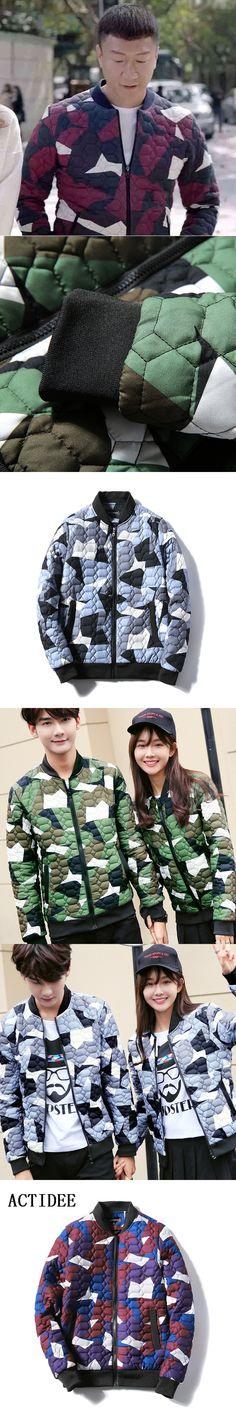 2017 New ACTIDEE Brand Winter Jacket Men Fashion Clothes Print Baseball Jackets Men Women Lovers Coats Plus Size 3XL 4XL