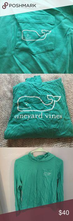 Vineyard vines light weight hoodie Beautiful color, perfect for spring, super light weight Vineyard Vines Tops Sweatshirts & Hoodies