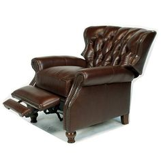 austin recliner 3 positional coffee top grain leather comfort free shipping ebay