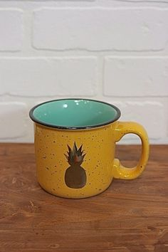 Golden Pineapple Mug