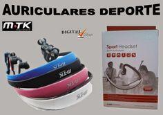 Digit@L Chip - Informática - Sonido: MTK AURICULARES DEPORTE CON BATERIA REPRODUCTOR MP...