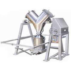 "Blenders - ""V"" Shape Mixer Blender : Axial Screw Powder Extruder, Basket Extruder, Extruder and Spherodizer, Extrusion Spheronization, Spherodizer"