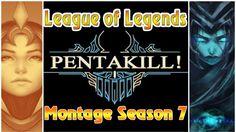 League of Legends Montage Pentakill: Kayn, Ornn, Vayne, Yasuo season 7 Game Live Stream, Season 7, League Of Legends, Lol, League Legends, Fun