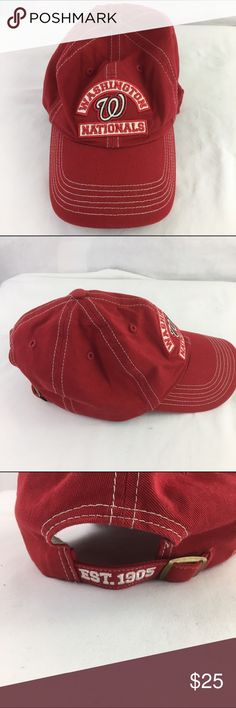 Washington Nationals Baseball Cap Trucker Hat New without tags. Adjustable Accessories Hats