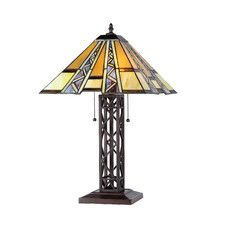 """Mission 23.6"""" H Table Lamp with Cone Shade"""