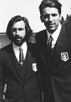 Pirlo e Buffon