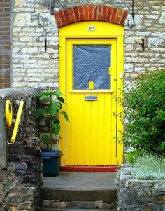 Dare to Paint Your Front Door a Bright, Pretty Color! | The Stir