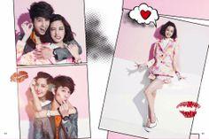 Annie Chen & George Hu - S-Pop Magazine July 2013 issue George Hu, Pop Magazine, Love Now, Music Tv, Chen, Annie, Dramas, Real Life, Sari