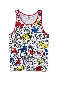 Keith Haring Tank Top | FOREVER21 #21Men #TagF21