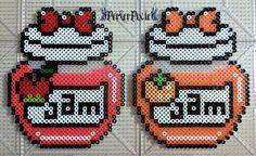 Apple and Orange Jam by PerlerPixie.deviantart.com on @DeviantArt