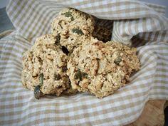 Vločkovo semínkové houstičky – Snědeno.cz Krispie Treats, Rice Krispies, Smoothie, Clean Eating, Cookies, Desserts, Fat, Pump, Crack Crackers