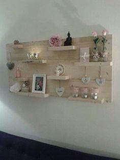 Mooi idee voor aan de muur.