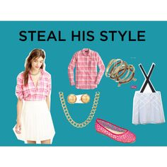 Steal his style with style