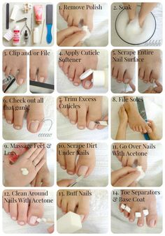 Secret to cleaning self tanner off of your hands SO SIMPLE