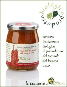 conserva tradizionale biologica di pomodorino del piennolo del Vesuvio dop .:. casabarone
