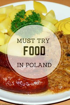 When visiting Poland, be sure to try the must try food in Poland we have summarised for your convenience. The best Polish food! Poland Food, Krakow Poland, Warsaw Poland, Visit Poland, Poland Travel, Voyage Europe, All I Ever Wanted, Polish Recipes, Dinner Dishes