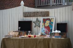 Camp Themed Outdoor Birthday Party - Project Nursery