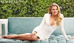 Secret to her success: Much ado has been made of how Khloé Kardashian transformed her 5ft1...