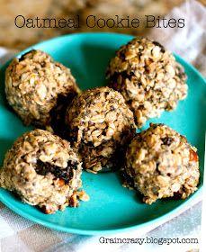 Grain Crazy: Oatmeal Cookie Bites