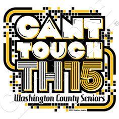 Seniors Keep It Classy Class of 2015 Graduation T-Shirt 2000 - SC-183