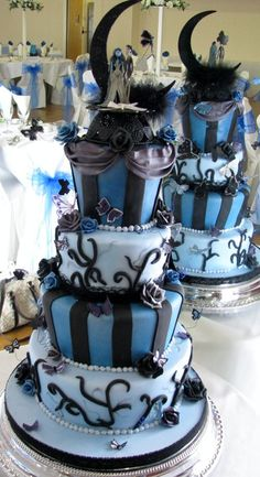 Corspe Bride & Groom Wedding Cake - by dazzleliciouscakes @ CakesDecor.com - cake decorating website