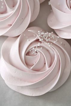 Meringue Rose Cookies – Passion 4 baking                                                                                                                                                      More