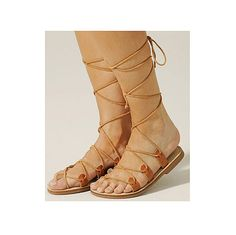 Leather gladiator sandal womens lace up to the knee, real leather flat shoes greek style Leather Gladiator Sandals, Black Leather Sandals, Lace Up Sandals, Leather And Lace, Real Leather, Leather Cord, Roman Sandals, Greek Clothing, Women's Feet