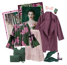 """Modern Vintage...."" by carola-corana ❤ liked on Polyvore featuring Modern Vintage, Lipstick Queen, modern, vintage and zaful"