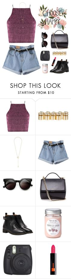 """#Untitled511"" by claricewenzel ❤ liked on Polyvore featuring Maison Margiela, Retrò, Givenchy, Guerlain, women's clothing, women, female, woman, misses and juniors"