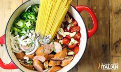 http://www.theslowroasteditalian.com/2015/08/one-pot-mexican-pasta-sausage-recipe.html