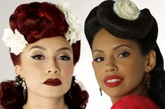Iconic Pachuca Looks - the rebellious styles of a Mexican American subculture of the 1940s #rockabillypoc