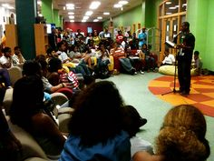 Lyricist Loft - open mic for teens at Chicago Public Library/Youmedia