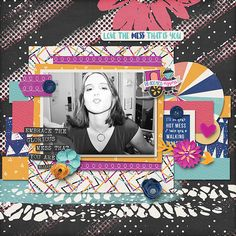 layout created with Hot Mess Express Kit by Amanda Yi & River Rose Designs