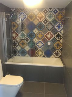 Cement, Tile Floor, Tiles, Bathtub, Unique, Places, Handmade, Artemis, Houzz