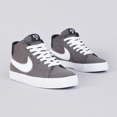 Nike Blazer Mid LR Midnight Fog - I don't care if these are men's.. I want them!