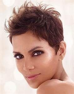 rövid frizurák - Halle Berry kócos rövid frizura ...