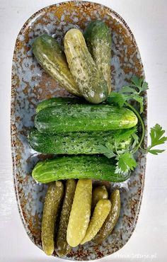 Sałatka z tuńczykiem, 3 Pickles, Cucumber, Food, Essen, Meals, Pickle, Yemek, Zucchini, Eten